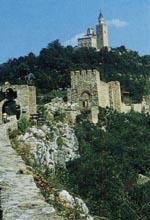 Вид на холм Царевец и Патриарший собор