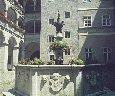 Дворик Ландхауса с фонтаном