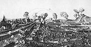 Шведы в Праге в 1648 г.