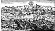 Шведы перед Прагой в 1648 г.