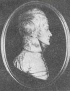П. Э. Рокштуль. Портрет Ф. И. Тузенгаузена. Миниатюра начала 1800-х годов.
