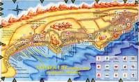 Карта Хургады с отелями