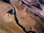 Нил и начало дельты. Всд из космоса 17.04.1993