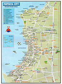 Карта Патайи