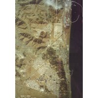 Карта Фуджейры с космоса