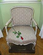 Кресло, в котором скончался Казанова