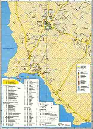 Карта Пафоса (Paphos)