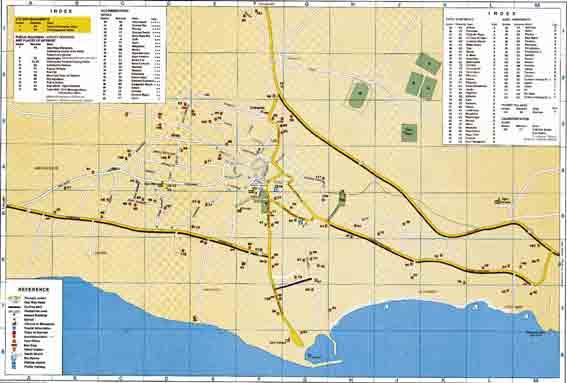 Карты Айя Напа (Ayia Napa)