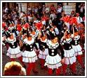 Праздничное шествие на Карнавале вина