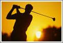 Любители гольфа могут предаться игре на специальных полях