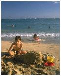 Побережье Ларнаки - один большой пляж