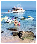 Море на этом курорте поражаетт свойе чистотой