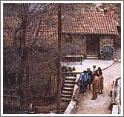 В деревне Какопетрия все улочки дышат средневековой стариной