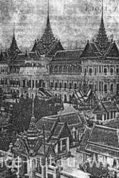Бангкок. Большой дворец Чакри. Середина XIX в.