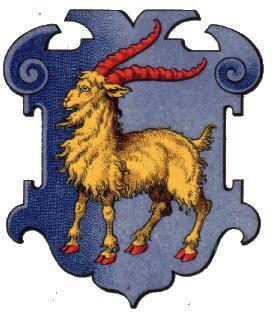 Герб Истрии во время правления Австро-Венгрии (XIX в.)