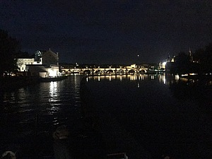 Прага / Отдых на пароходе 3 часа вечерняя прпга